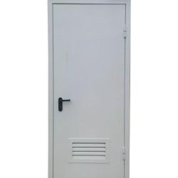 Противопожарная дверь с вентиляционной решеткой ДМП-31