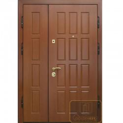 Полуторная глухая дверь МДФ ДМП-27