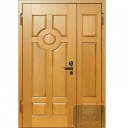 Двустворчатые входные двери ДД-МШ-МШ 16