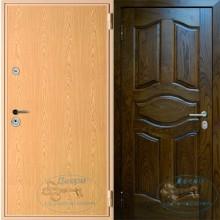 Входная стальная дверь с ламинатом