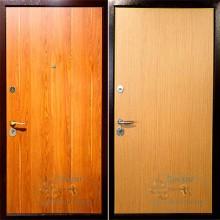 металлические двери с ламинатом на заказ