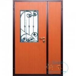 Дверь с ковкой МД-СК-Л-37