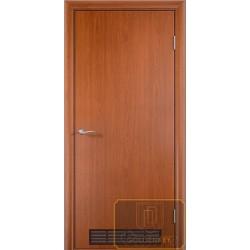 Дверь для котельной с решеткой МД-ВК-14