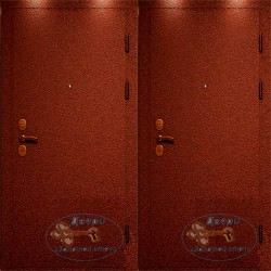 Гаражные железные двери