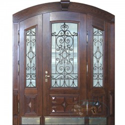 Арочная дверь №21