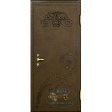 Стальные двери с ковкой