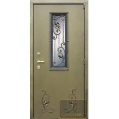 Дверь с ковкой МД-СК-Л-01