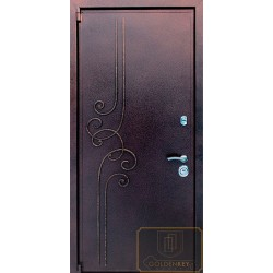 Дверь с ковкой МД-СК-Л-14