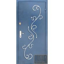 Железные двери с ковкой