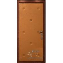Входная дверь в офис ВД-ОП-06 Винилискожа с рисунком-Винилискожа с рисунком