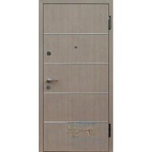 Входная дверь в офис ВД-ОП-14 Ламинат с молдингом-ламинат