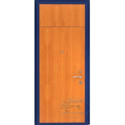 Дверь порошок ламинатом с вставкой
