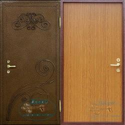 Дверь наружная металлическая утепленная НД-ПК-Л-15