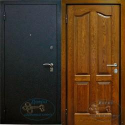 Дверь наружная металлическая утепленная НД-П-MШ-09