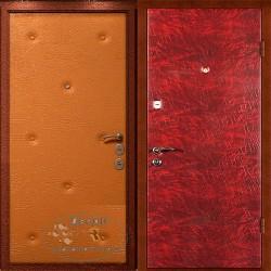 Дверь дутая винилискожа ВД-ВР-В 010