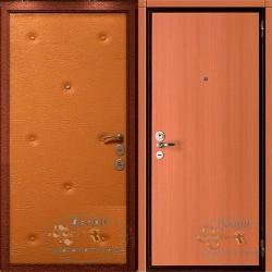 Входная дверь обитая дермантином ВД-ВР-ЛА 11