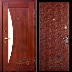 Дверь входная с зеркалом внутри ВД-МЗ-В 02