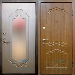 Входная дверь с большим зеркалом ВД-МЗ-М 10