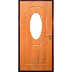 Стальные двери с зеркалом внутри ВД-МЗ-МП 13