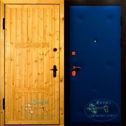 Входные двери обшитые вагонкой ВД-ВГ-ВР 06