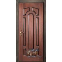 Входные двери из массива и стали
