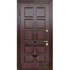 Входная дверь из массива МАС-13