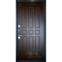 Входная дверь в квартиру КД-М-ВР 65 МДФ-винилискожа с рисунок с доставкой и установкой в Москве от производителя