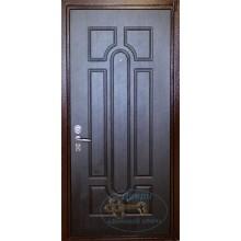 Входная дверь в квартиру КД-М-И 67 МДФ-нитропокрас с доставкой и установкой в Москве от производителя