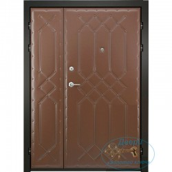 Двустворчатые двери ДД-В-ВР 02