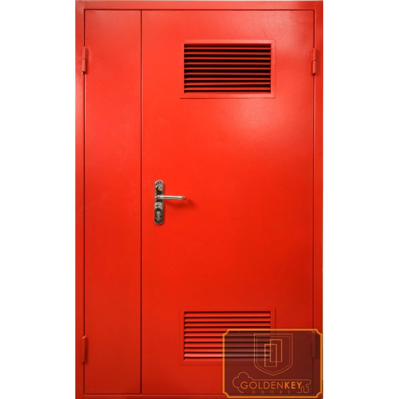 установить вентиляционную решетку металлическая дверь котельная