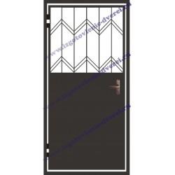 Дверь решетчатая металлическая РД-01