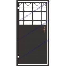демонтаж тамбурной стальной двери