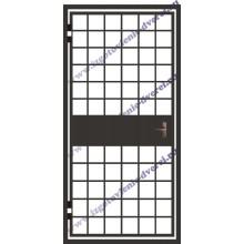 металлические решетчатые двери на лестничную клетку дешево