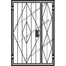 решетчатые металлические двери в парадное