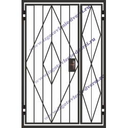 Решетчатая дверь РД-16