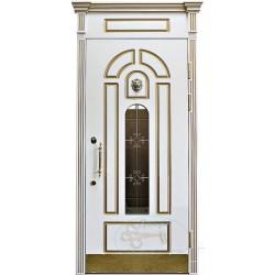 входные двери в коттедж со стеклом в москве