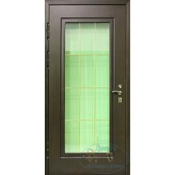 Двери наружные со стеклом НД-МС-11