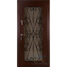 металлические входные двери со стеклопакетом и их стоимость