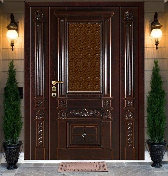 входные двери ворота парадные