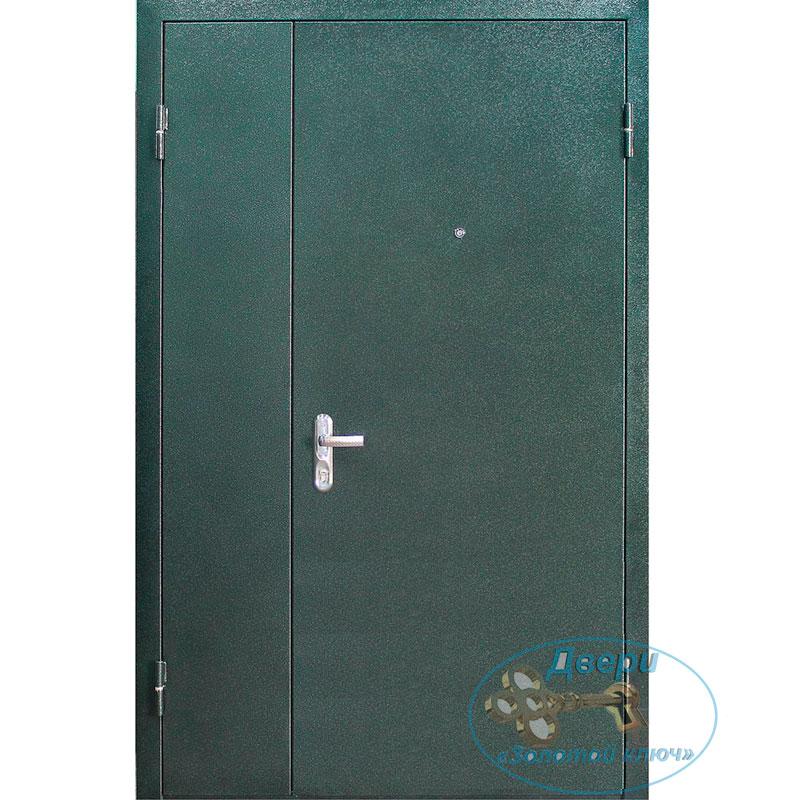 Входная тамбурная дверь с левой боковой вставкой