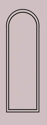 Образец фрезеровки металлической двери 3