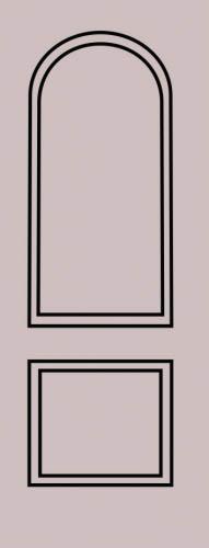 Образец фрезеровки металлической двери 5