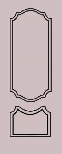 Образец фрезеровки металлической двери 8