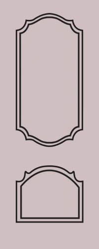 Образец фрезеровки металлической двери 10