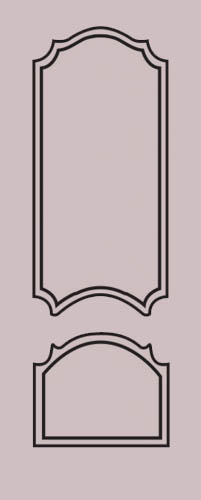 Образец фрезеровки металлической двери 12