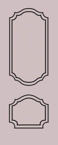 Образец фрезеровки металлической двери 18