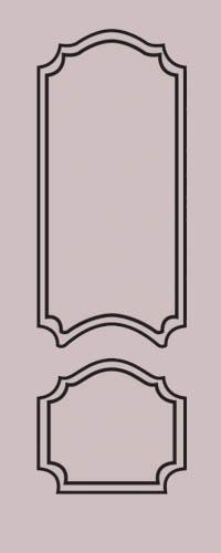 Образец фрезеровки металлической двери 20