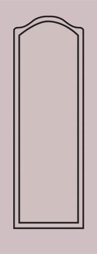 Образец фрезеровки металлической двери 23