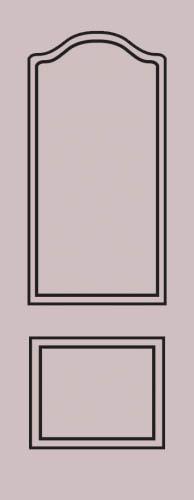 Образец фрезеровки металлической двери 24