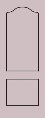 Образец фрезеровки металлической двери 25